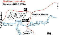 yellowstone madison campground map Yellowstone Maps Madison Alltrips yellowstone madison campground map
