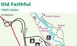 Yellowstone Map Old Faithful Alltrips