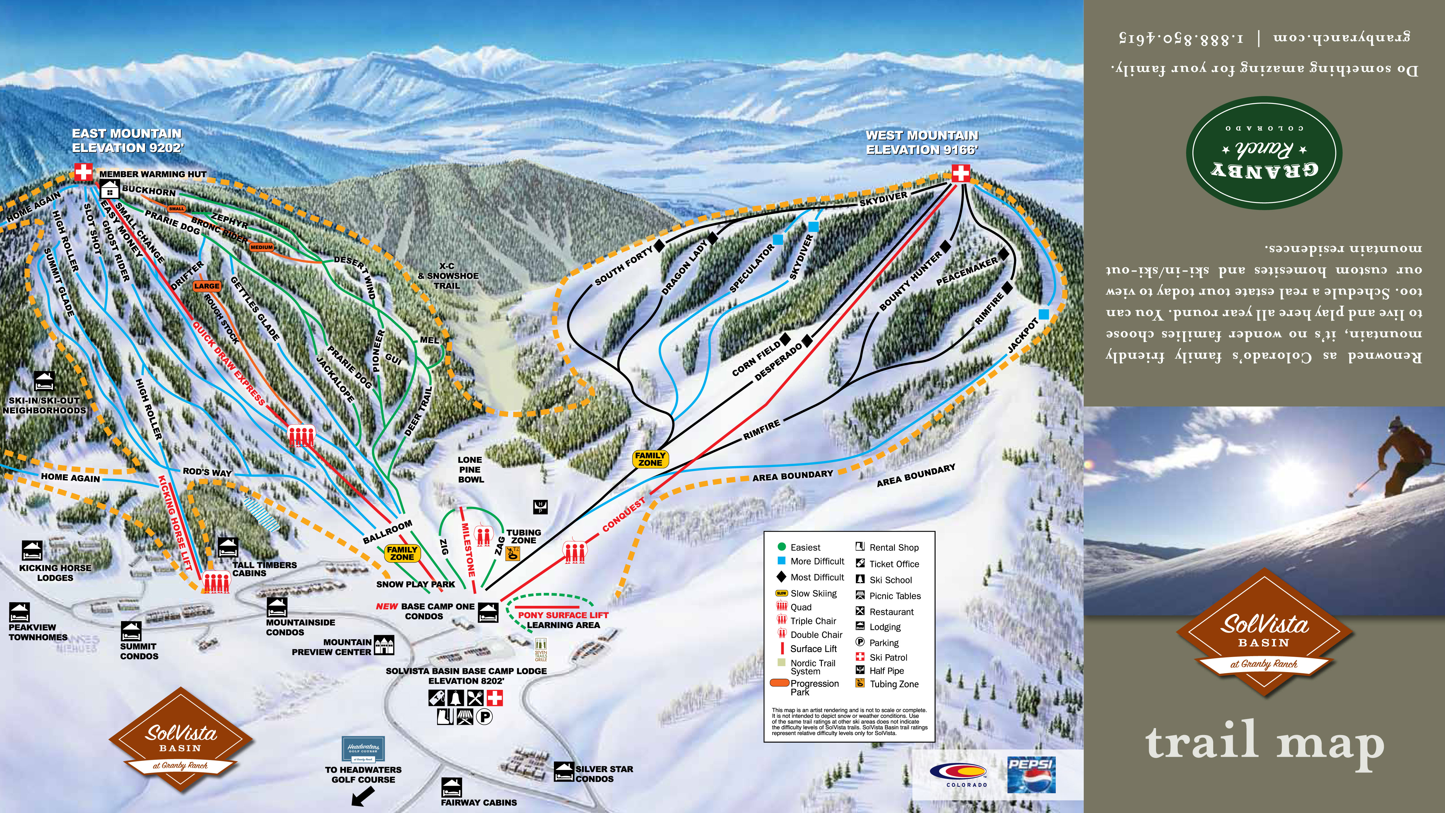 Solvista Ski Resort Map Alltrips