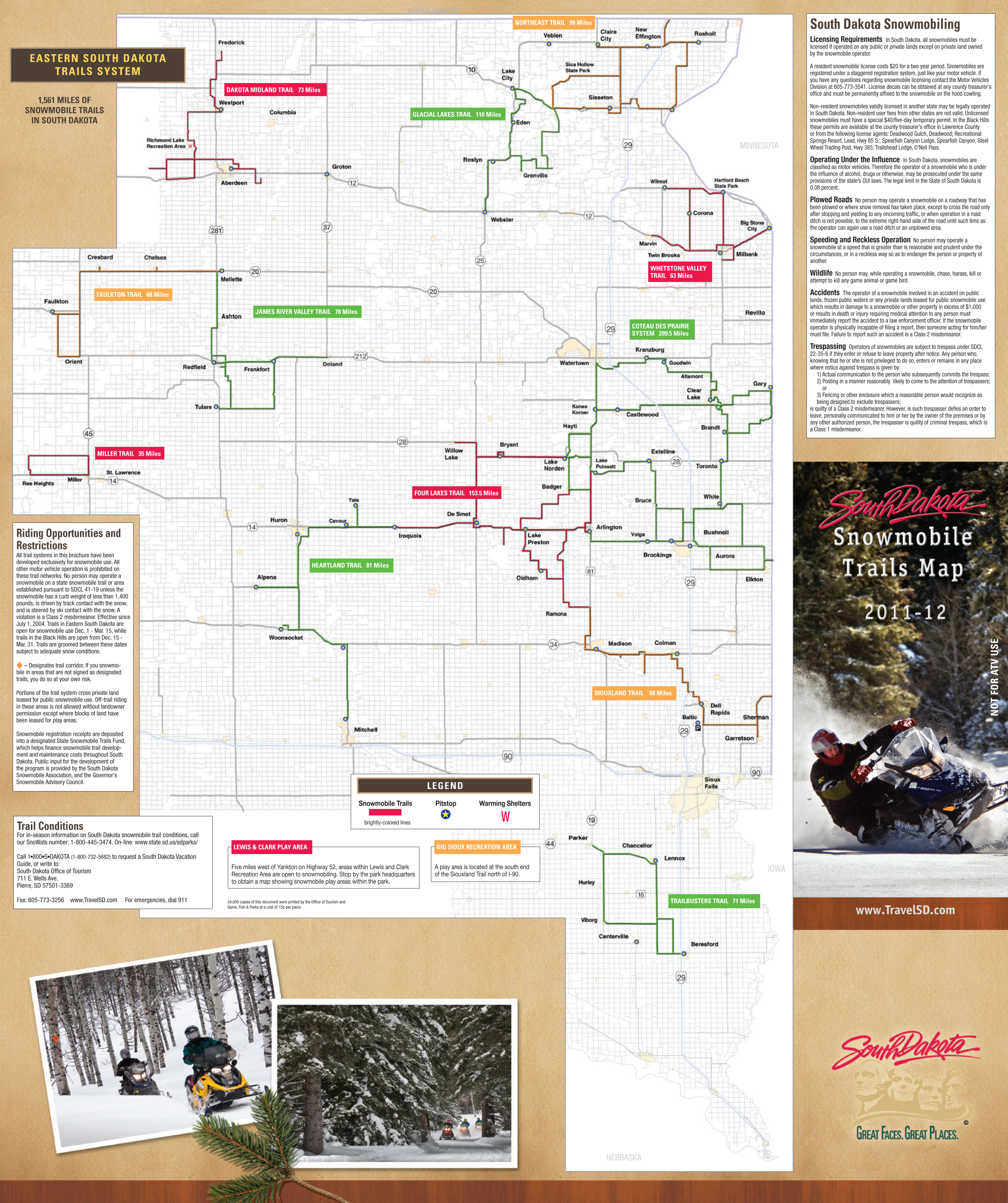 Research Shows Black Hills Are Truly a Winter Wonderland ...  |Black Hills Trail Reports