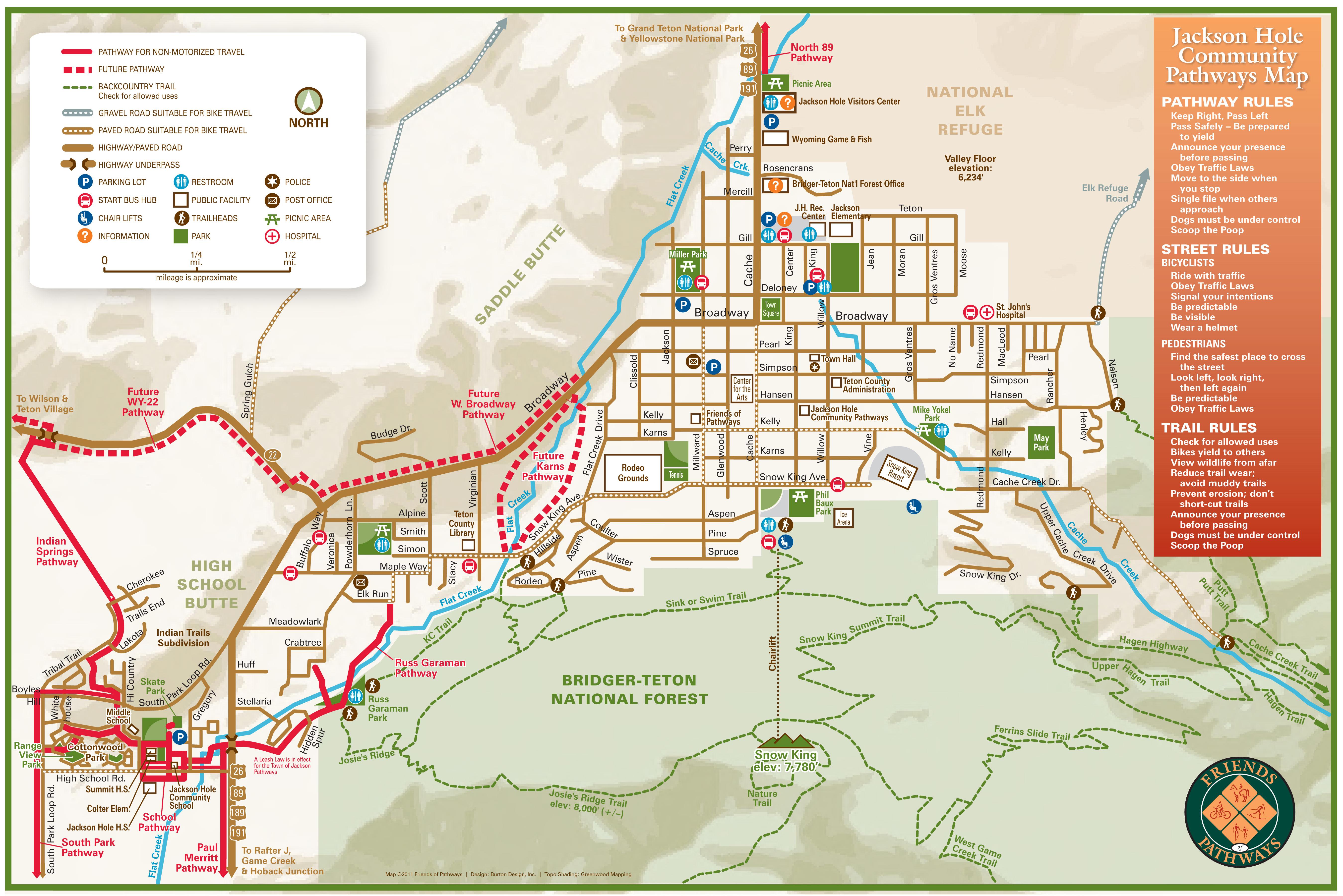 Jackson Hole WY Maps  AllTrips
